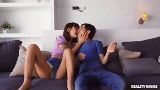Step sibling misbehavior with sexually needy Silvia Soprano