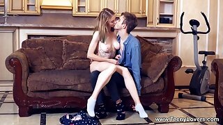 Sweet irritant babe prevalent obese naturals, strong couch lovemaking