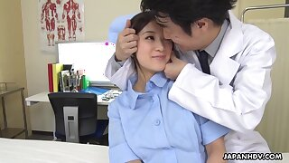Asian amoral nurse Anna Kimijima exciting video