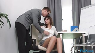 Composing Math sucks added to slutty nympho gets nailed doggy style